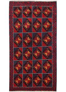 Firebrick Baluchi 3' 6 x 6' 2 - No. 62806