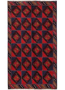 Firebrick Baluchi 3' 7 x 6' 2 - No. 62809