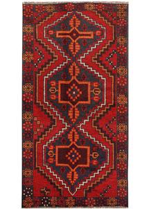 Firebrick Baluchi 3' 5 x 6' 7 - No. 62818