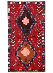 Firebrick Baluchi 3' 5 x 6' 4 - No. 62823
