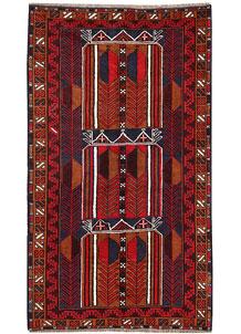 Firebrick Baluchi 3' 6 x 5' 11 - No. 62830