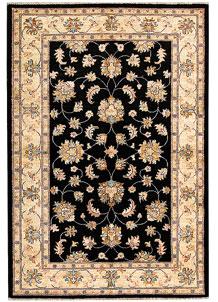 Black Oushak 4' x 5' 11 - No. 62836
