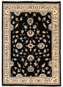 Black Oushak 4' 1 x 5' 10 - No. 62839