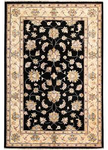 Black Oushak 4' x 5' 10 - No. 62846