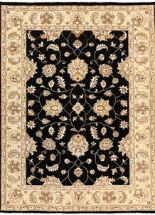 Black Oushak 5' x 6' 6 - No. 62850