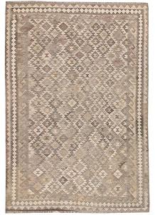 Silver Kilim 5' 7 x 8' - No. 62943
