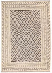 Silver Kilim 5' 9 x 8' - No. 62952