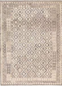 Silver Kilim 5' 7 x 7' 11 - No. 62954