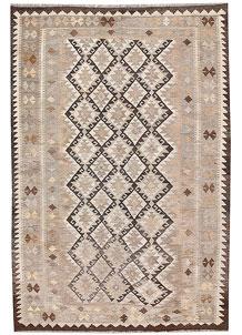 Silver Kilim 5' 5 x 8' 2 - No. 62960