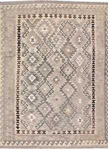 Silver Kilim 6' x 8' 2 - No. 62963