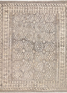 Silver Kilim 6' x 7' 9 - No. 62965