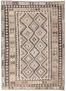 Silver Kilim 5' 8 x 7' 9 - No. 62975
