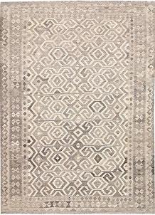 Silver Kilim 5' 10 x 8' - No. 62976