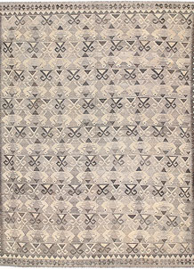 Light Grey Kilim 8' x 9' 9 - No. 62986