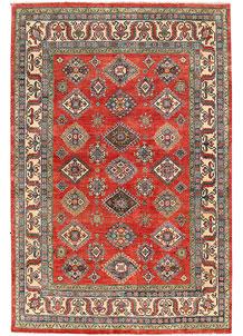 Firebrick Kazak 6' 7 x 9' 8 - No. 63031