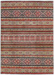 Firebrick Kazak 6' 7 x 9' - No. 63033