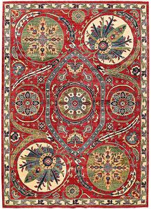 Firebrick Kazak 6' 9 x 9' 6 - No. 63035
