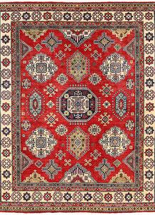 Firebrick Kazak 8' 1 x 9' 9 - No. 63038