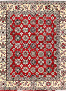 Firebrick Kazak 8' 1 x 9' 9 - No. 63039