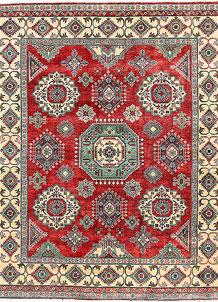 Firebrick Kazak 8' 1 x 9' 7 - No. 63040