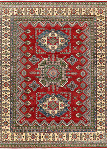 Firebrick Kazak 8' 2 x 9' 11 - No. 63041