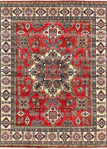 Firebrick Kazak 8' x 9' 10 - No. 63042