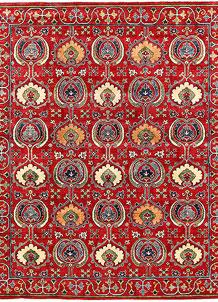 Firebrick Kazak 7' 10 x 9' 7 - No. 63046