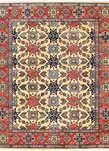 Firebrick Kazak 8' 2 x 9' 7 - No. 63049