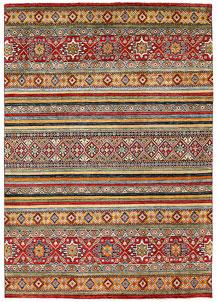 Firebrick Kazak 6' 11 x 9' 10 - No. 63050