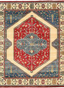 Firebrick Kazak 8' x 9' 9 - No. 63051