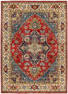 Firebrick Kazak 8' 11 x 12' - No. 63054