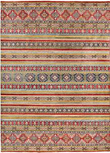 Firebrick Kazak 8' 11 x 12' 2 - No. 63056