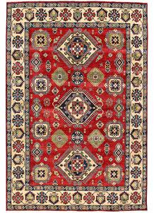 Firebrick Kazak 8' 11 x 11' 11 - No. 63058