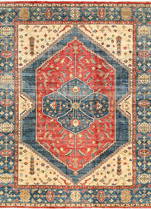 Firebrick Kazak 8' 10 x 11' 7 - No. 63061