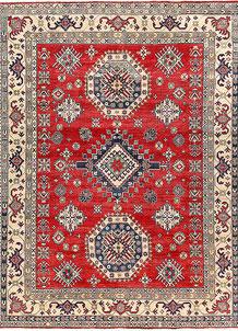 Firebrick Kazak 8' 10 x 11' 7 - No. 63062