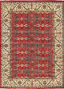 Firebrick Kazak 10' 1 x 13' 9 - No. 63063