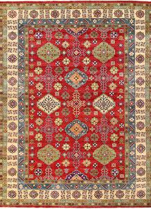 Firebrick Kazak 10' 2 x 13' 10 - No. 63065