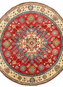 Firebrick Kazak 7' 11 x 8' 4 - No. 63068