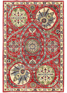 Firebrick Kazak 6' x 8' 10 - No. 63092