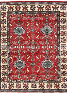 Firebrick Kazak 4' 10 x 6' 4 - No. 63093