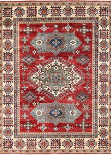 Firebrick Kazak 5' x 6' 7 - No. 63094