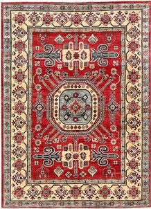 Firebrick Kazak 5' 1 x 7' - No. 63095