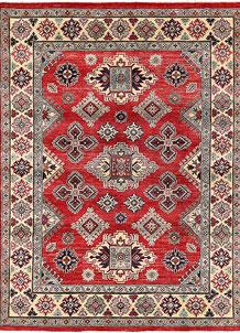 Firebrick Kazak 5' x 6' 7 - No. 63096