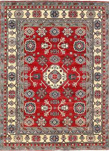 Firebrick Kazak 5' x 6' 8 - No. 63097