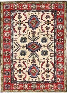 Firebrick Kazak 5' 1 x 6' 11 - No. 63099
