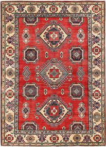 Firebrick Kazak 5' 5 x 7' 4 - No. 63100