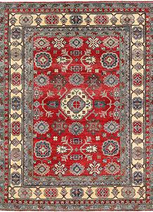 Firebrick Kazak 5' 1 x 6' 7 - No. 63101