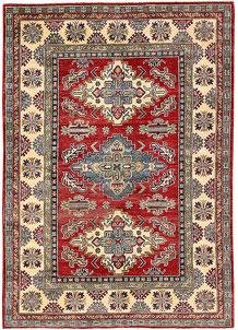 Firebrick Kazak 4' 11 x 6' 11 - No. 63103