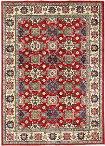 Firebrick Kazak 5' 10 x 7' 8 - No. 63107