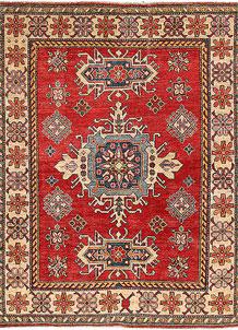 Firebrick Kazak 4' 10 x 6' 2 - No. 63110